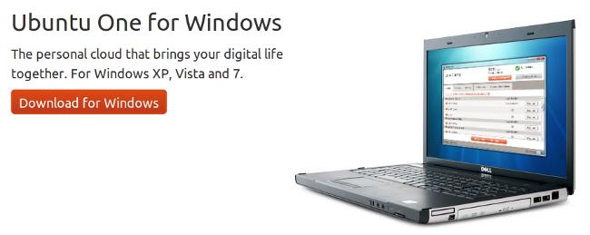 Ubuntu One para Windows