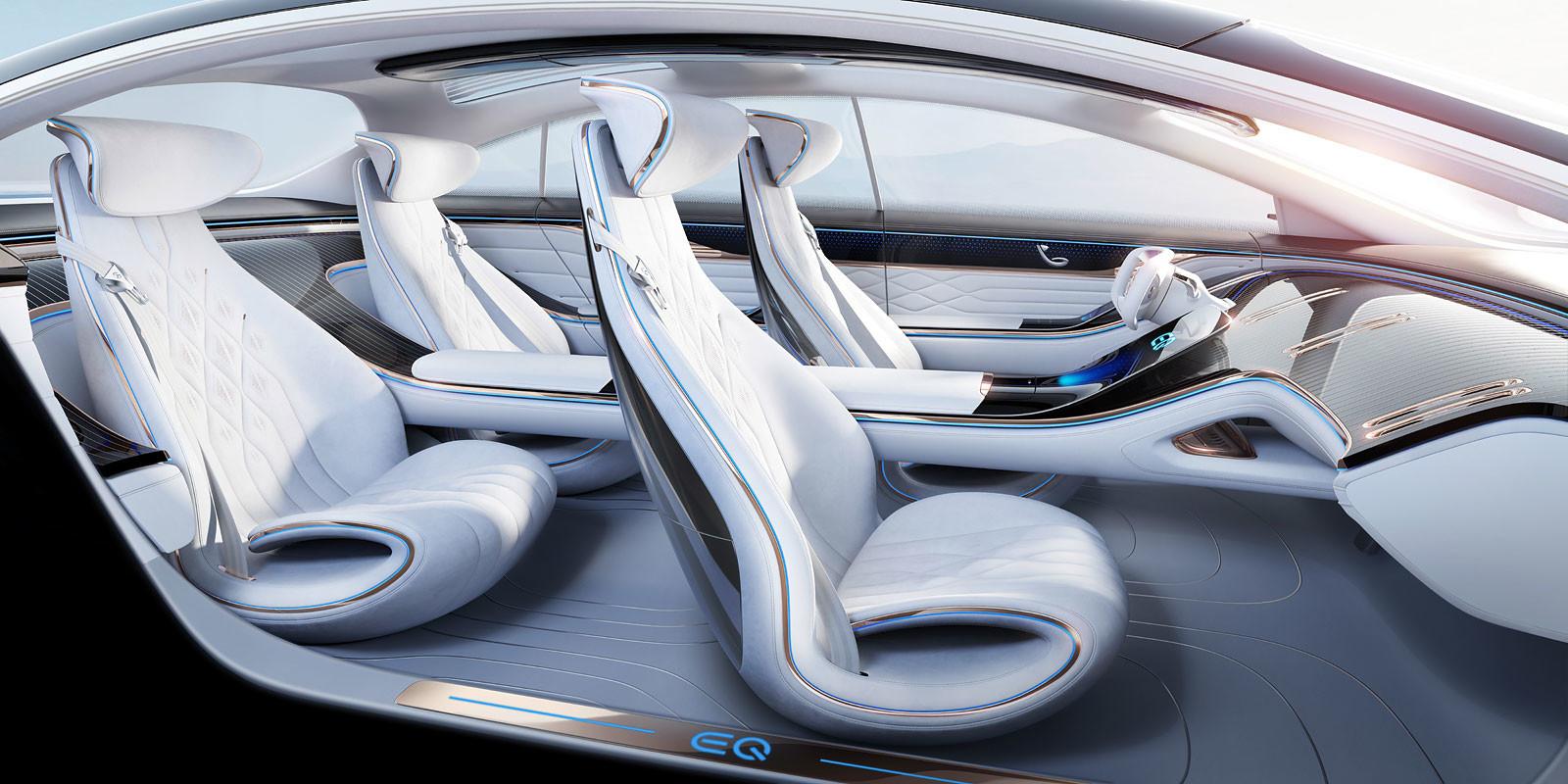 Foto de Mercedes Vision EQS (7/13)