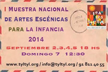 La semana que viene se celebra la I Muestra Nacional de Artes Escénicas para la Infancia