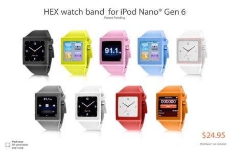 Aparece la primera funda interesante para el iPod nano