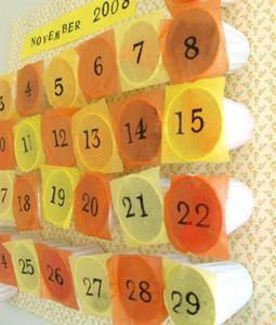 Crea tu propio calendario de Adviento
