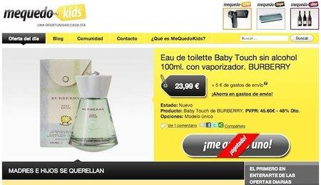 MeQuedoKids, outlet online de productos infantiles