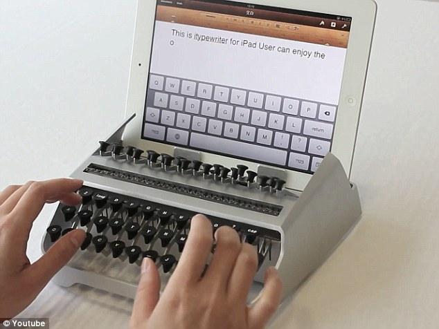 iTypewriter, o como crear algo para demostrar que puede hacerse