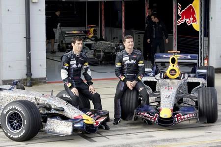 Webber Coutlhard Red Bul Formula1