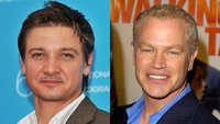 Jeremy Renner y Neal McDonough en 'The Avengers'