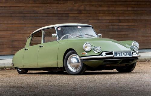 Citroën DS, una 'diosa' que cumple 60 años