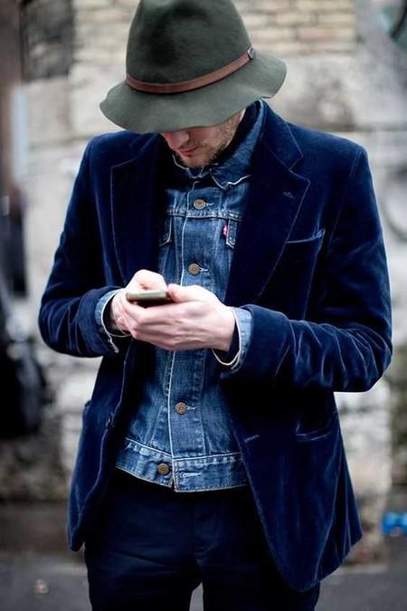 Trendencias Hombre Terciopelo Street Style 2018 12