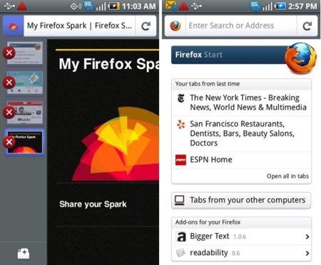Firefox 5.0 para Android ya disponible, pero no por mucho tiempo