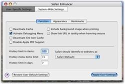 Safari Enhancer: Amplía las posibilidades del navegador de Apple