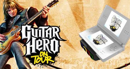 Desvelada la lista de canciones de 'Guitar Hero: On Tour'