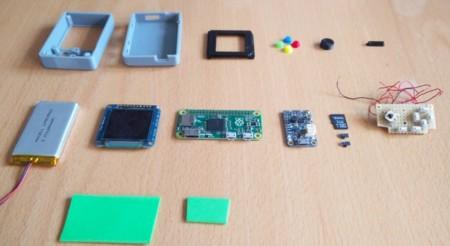 Pi Zero Gameboy Nano: Partes necesarias