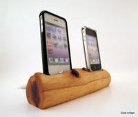 Cinco bases para el iPhone hechas a mano y que marcaran la diferencia en tu casa