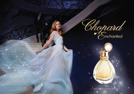 Encantada con Chopard, 'Enchanted' es su nuevo perfume para este 2012