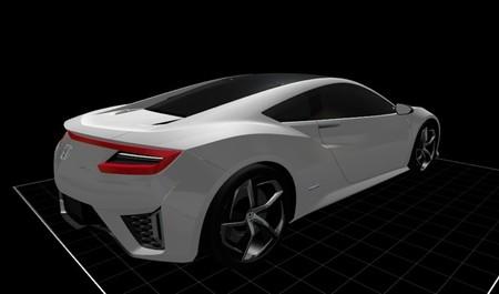 Honda-Acura NSX Concept 3D 03