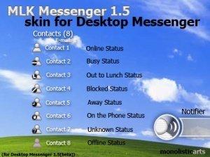 Desktop Messenger, el widget de Yahoo! para los amantes del MSN Messenger