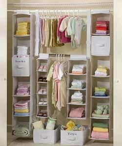 Ideas para organizar el armario de los niños