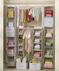 Ideas para organizar el armario de los ni os - Organizadores de armarios ...