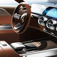El nuevo SUV compacto Mercedes-Benz GLB nos deja ver su interior antes de su debut en el Salón de Shanghai