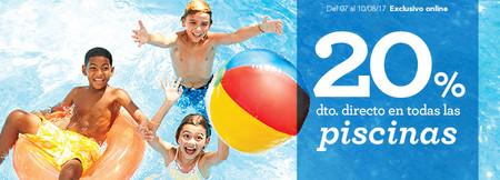 20% de descuento en Toys 'r us en piscinas hinchables y familiares hasta el 10 de agosto