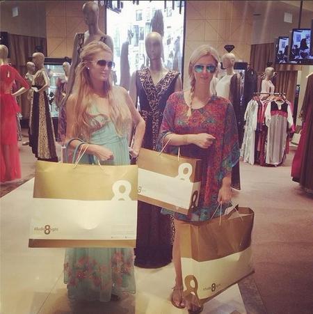 Paris Hilton Compras 1