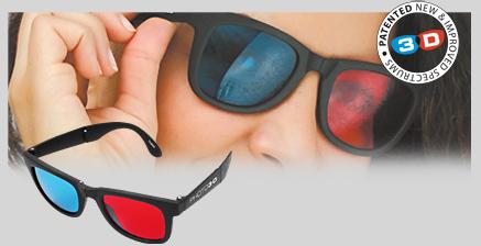 Verdaderas gafas 3D (ya basta de gafas de papel)