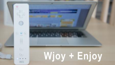 Wjoy + Enjoy, la forma más sencilla de conectar y usar el WiiMote en OS X