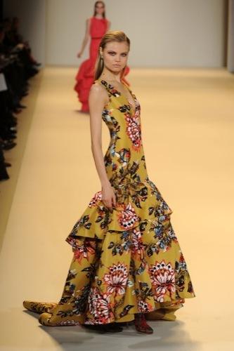 Carolina Herrera, Otoño-Invierno 2010/2011 en la Semana de la Moda de Nueva York VII