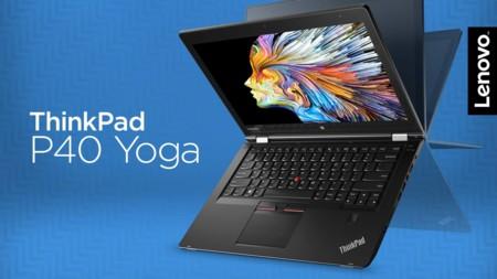 Lenovo ThinkPad P40 Yoga, workstation móvil con la flexibilidad de una tablet