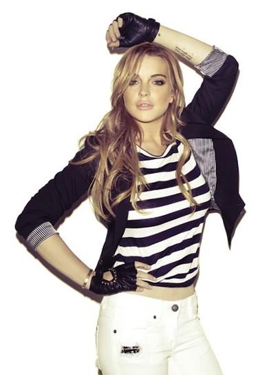 A ver cuando nos damos cuenta que lo de Lindsay Lohan es un caso más que perdido...