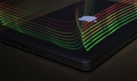 Este es el aspecto del campo electromagnético que genera un MacBook