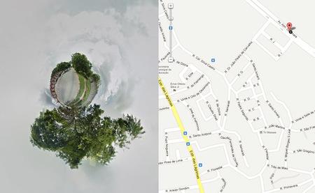 """Streetview Stereographic: Generador de """"mini planetas"""" a través de Google Street View"""