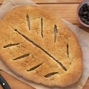 Cómo hacer el popular pan fougasse, receta con Thermomix