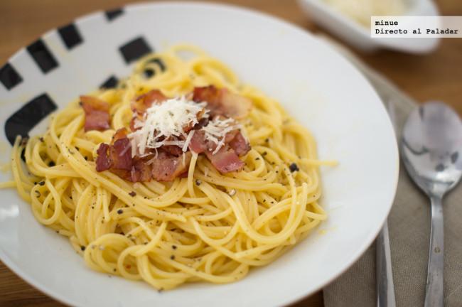 Espagueti Carbonara - 1
