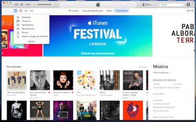 iTunes 12 ahora disponible para OS X Mavericks y Windows
