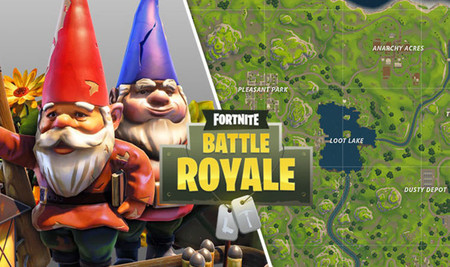 Mapa De Gnomos Fortnite.Guia Fortnite Battle Royale Video Y Mapa Con Todos Los