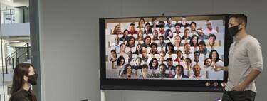 Una Surface de 85 pulgadas: Microsoft trae a España su Surface Hub 2S para reuniones híbridas