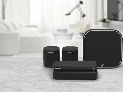 Damson S-Series, un kit de altavoces Dolby Atmos que promete sonido envolvente inalámbrico