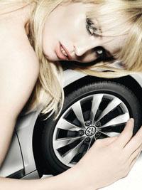 Calendario Volkswagen Scirocco 2009