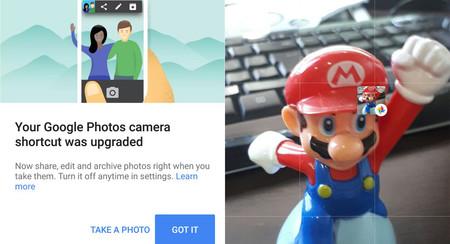 Google Fotos 2.16 mejora el botón flotante para la cámara, añade sugerencias de archivo y más