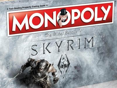 Skyrim también tendrá su propio Monopoly, y me parece una idea estupenda