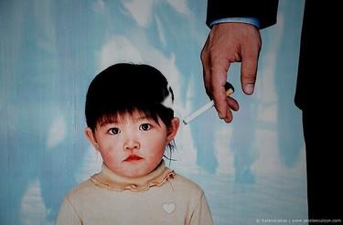 Riesgos del tabaquismo pasivo para la salud de los niños