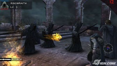 Imágenes del Lord of the Rings Tactics