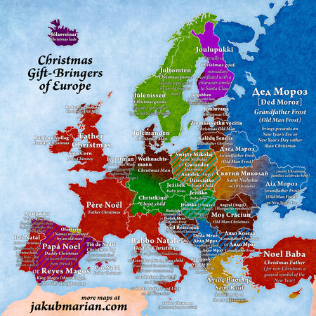 Christmas Gift Bringers Europe