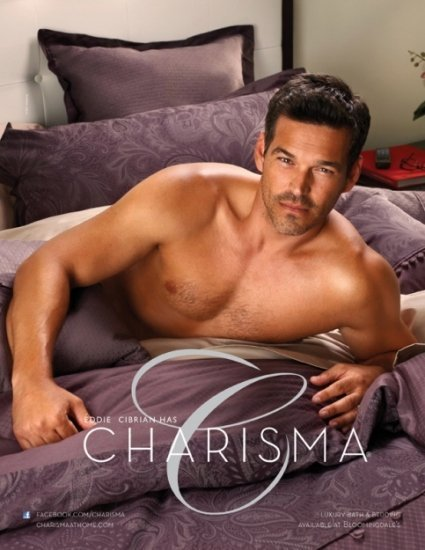 Eddie Cibrian sin camiseta: menudo regalo y eso que no estamos en navidad