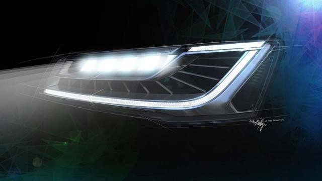Audi faros LED intermitentes