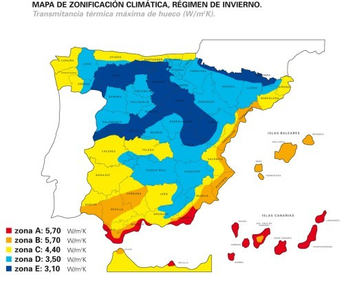 Mapa Climaticorect