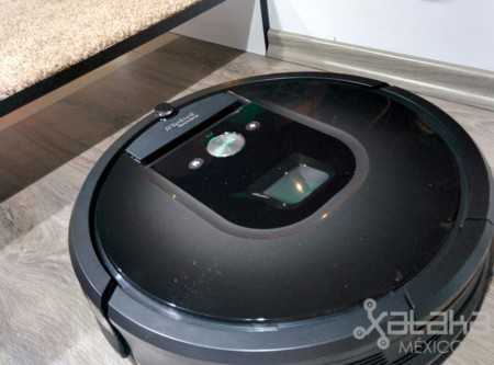Esta es la Roomba 980 de iRobot