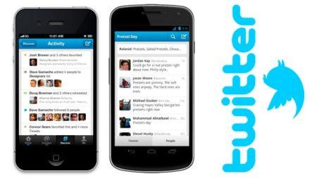 Las aplicaciones oficiales de Twitter para iOS y Android se ponen al día