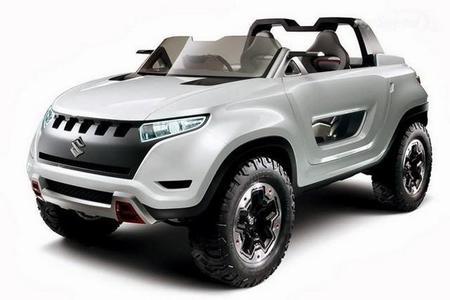 Coches pequeños para un futuro grande: Suzuki X-Lander Concept