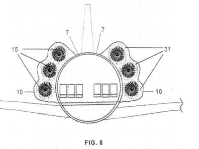 Si el ruido de las turbinas en un avión era molesto, esta patente lo hará una pesadilla